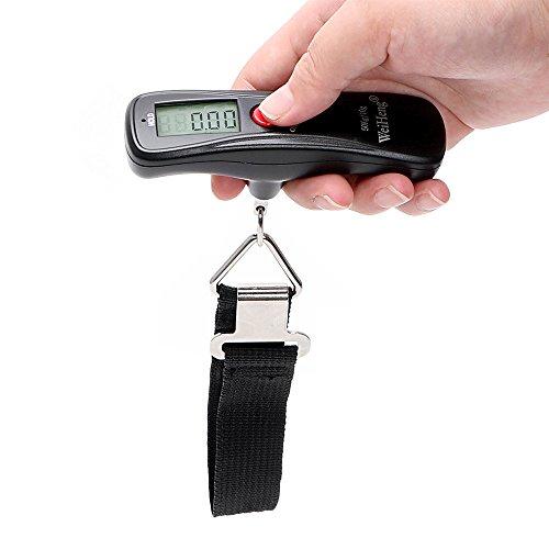 Pèse bagage électronique numérique 50 kg 10 g pour la pêche et le...