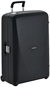 Made in Europe Made of lightweight and robust polypropylene Three-point locking system for extra security Young and fresh colour palette with honeycomb inspired texture Termo Young Upright 82 ( ideal for a trip over two weeks): (56 x 34 x 82)cm, 120 ...