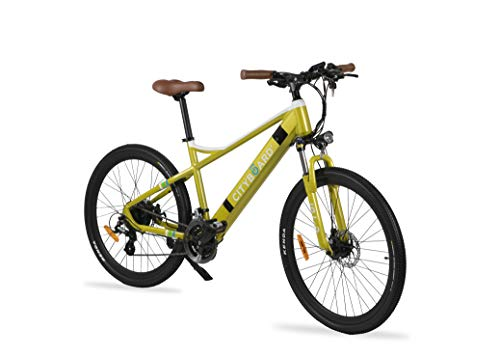 Cityboard E- Tui Bicicleta Eléctrica, Unisex Adulto, Negro/Azul, 27.5...