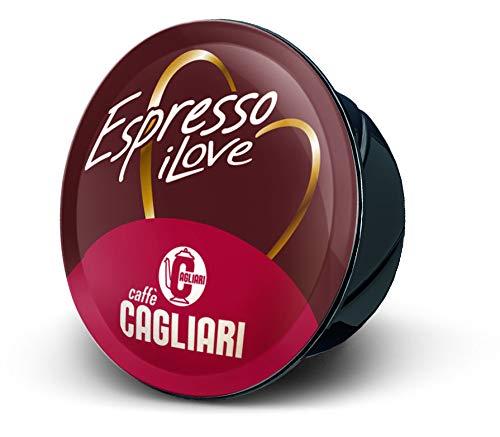 Caff Cagliari - 100 Capsule compatibili Lavazza A Modo Mio - Miscela Crem Espresso