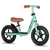 JOYSTAR 10 Inch Kids Balance Bike with Footrest for Child Girls 10' Glider Slider Bikes No Pedal...
