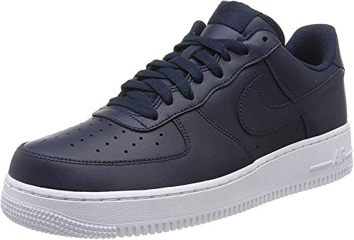 Nike Men's Air Force 1 07 White on White