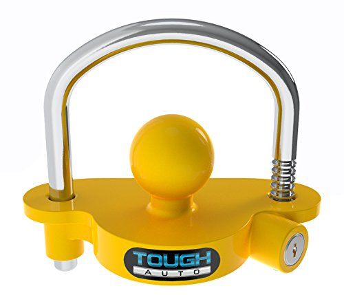 Tough Auto Trailer Hitch Lock Adjustable & Universal Fits...