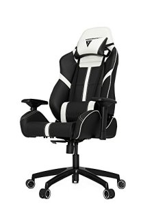Vertagear VG-SL5000_WT S-Line 5000 Gaming Chair, Large, Black/White