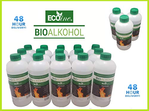 Premium BIOETHANOL Fuel for Fires, Free Next Business Day, 2hr ETA Delivery to Mainland UK for Orders Placed Before 3pm. Bio Ethanol Liquid Fuel for bioethanol Fires.from £1.99/L (12 Litre)