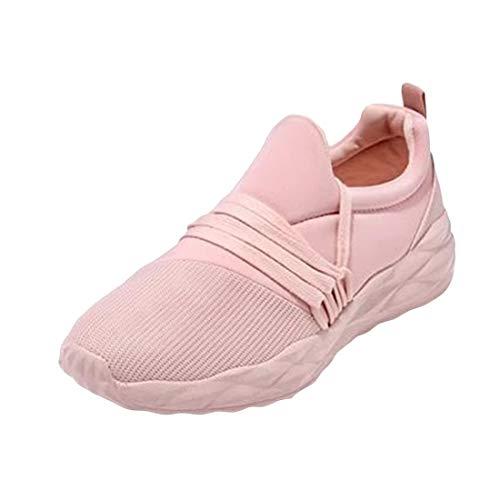 Zapatillas Deportivas Mujer Calzado Deportivo para Zapatos de Plataforma de Cuña de Fitness Casuales Zapatillas de Andar Antideslizantes Cómodas,03,42