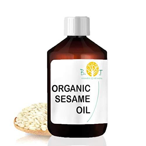 Aceite de Sésamo Orgánico Desodorizado Ayurveda 100% Natur