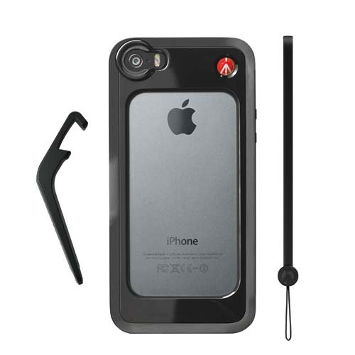 Manfrotto KLYP+ iPhone5/5S用バンパー ブラック MCKLYP5S-B