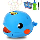 JoinJoy Bubble Machine Automatic Durable Bubble Blower for Kids 2000+ Bubble Parties Wedding Baby Showers Indoor/Outdoor