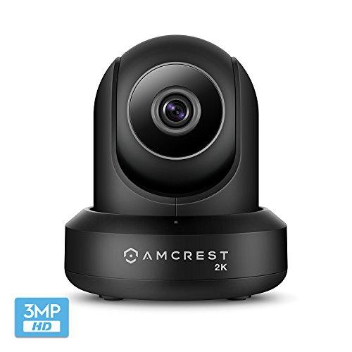 Amcrest UltraHD 2K (3MP/2304TVL) WiFi Video Security IP...