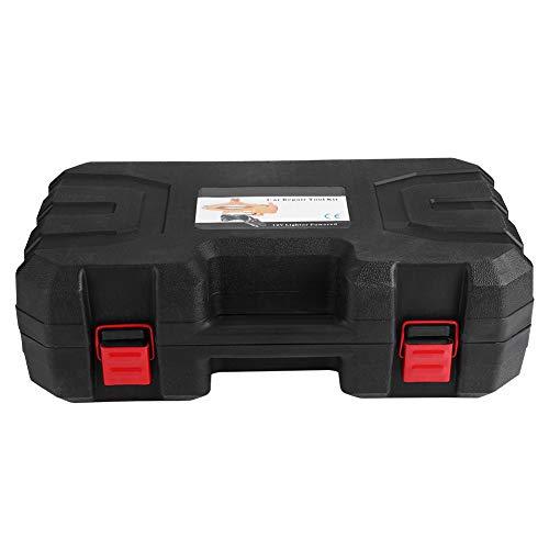Ejoyous Auto Wagenheber, 12V 2T Elektrischer Wagenheber Scherenwagenheber 12-35cm Autoheber Reifenwechsel Werkzeug mit Controller und Aufbewahrungsbox für Reifenwechsel und -Reparatur