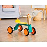 B. Toys- B. Smooth Rider Wooden Trike- Active Play Ride On for Toddlers 18M+