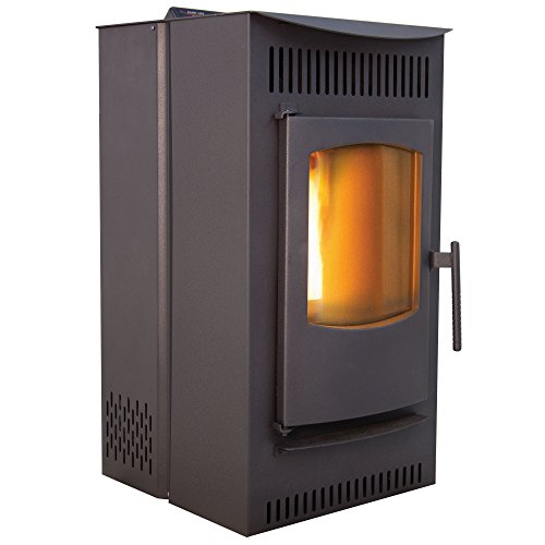 Castle Pellet Stoves 12327 Serenity Wood Pellet Stove with...