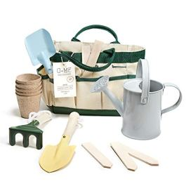 U+ME Kids Gardening Tools, Real Garden Set, Eco Friendly Design | Outdoor Toy | STEM, Montessori Toddler Activities | Kids Garden, Playhouse and Sandbox Accessories