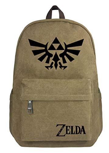 Cosstars The Legend of Zelda Juego Bolso de Escuela Bolsa de Lona Mochila de Viaje Backpack Rucksack /4