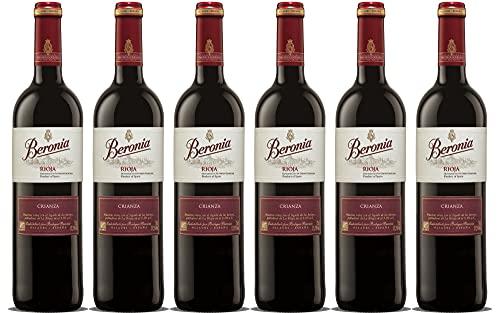 Beronia Crianza - Vino D.O.Ca. Rioja - 6 botellas de 750 ml