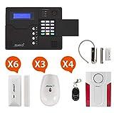 Atlantic'S - Alarme Maison sans Fil GSM Application Smartphone St-V Kit Max 1 (MD-334R)