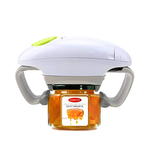 Electric Jar Opener, Kitchen Gadget Strong Tough Automatic Jar Opener For New Sealed Jars,The Hands Free Jar Opener with Less Effort to Open