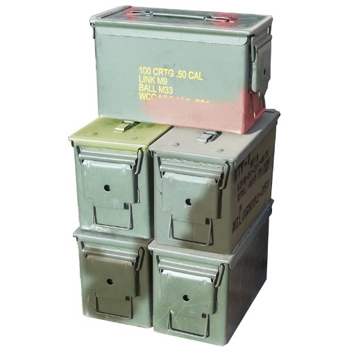41g8w4tf11L - 7 Best Ammo Cans- A Must-Have Accessory for Gun Owners
