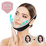 OUTERDO Facial Slimming Strap, Pain-Free Face-Lifting Bandage -V Line Lifting Chin Strap for Women Eliminates Sagging Skin Lifting Firming Anti Aging pink s