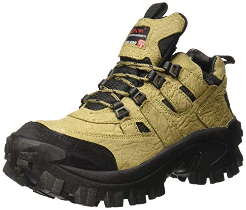 Woodland Men's Khaki Leather Sneaker-7 UK (41 EU) (G 40777CMA)
