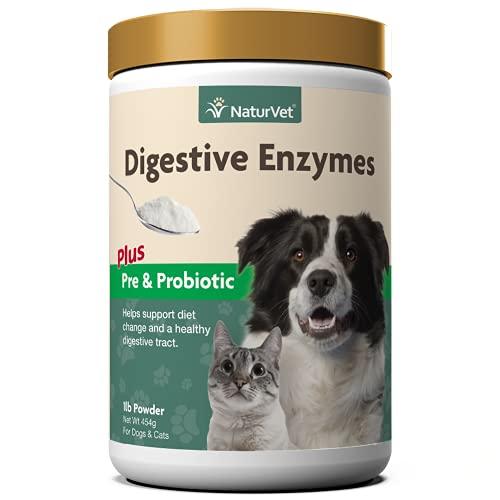 NaturVet – Digestive Enzymes - Plus Probiotics &...