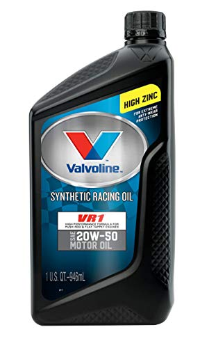 Valvoline VR1 Racing Synthetic SAE 20W-50 Motor Oil 1 QT