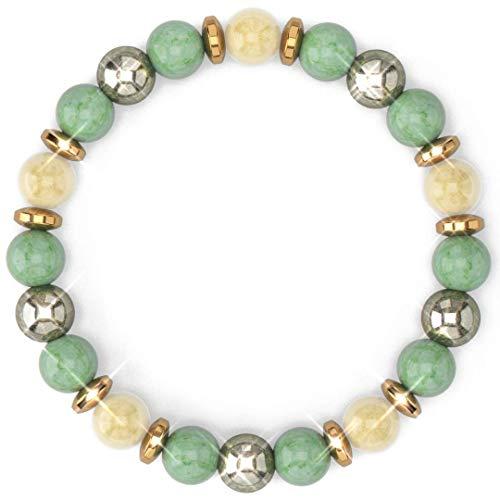 [Healing Trust] Citrine Crystal Bracelet with Aventurine...