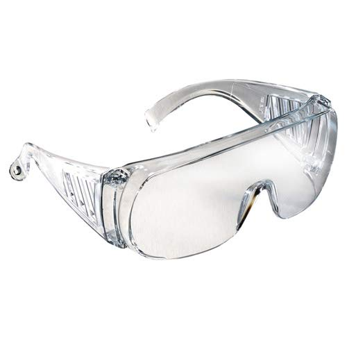 Radians 360-C'Chief' Over The Glass Safety Spec, Standard, Clear