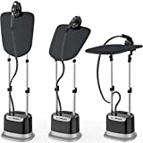 Professional Series Garment Steamer Accessories for Clothes Dual-Pro Iron, 1800 Watt Power and a...