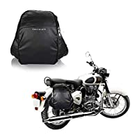 MADE WITH STURDY MATERIALS: Made with heavy-duty Polyester Saddle bag made on advance-Heavy sewing Machines. This motorcycle saddle bag is reinforced at all stress points to ensure durability and extended use. KEEP VALUABLES IN REACH: Never find your...
