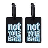 Funny - Etiquetas para equipaje (2 unidades)