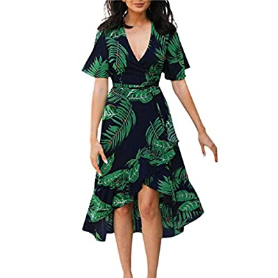 Features:Floral Lace, Vintage, Spaghetti Strap, Sleeveless, High Waist, Fit and Flare Cami Dress with a stunning scoop hemline and high neck,floral Printed, above knee mini.Perfect choice for beach, also suitable for casaul daily wear in summer Occas...