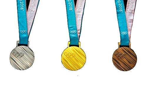 365日保証 Lixing リオオリンピック メダル レプリカ (金銀銅セット)
