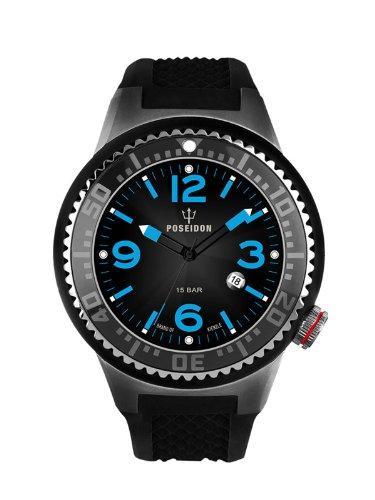Kienzle Herren-Armbanduhr POSEIDON L Analog Quarz Silikon K2093053123-00408