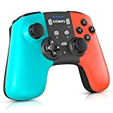Gamory Manette pour Nintendo Switch/Switch Lite, Manette sans Fil pour Nintendo Switch, Manette Pro Switch Bluetooth 6 Axes de Jeu avec Turbo Double Moteur pour Switch Pro et Switch Lite et PC Xbox360