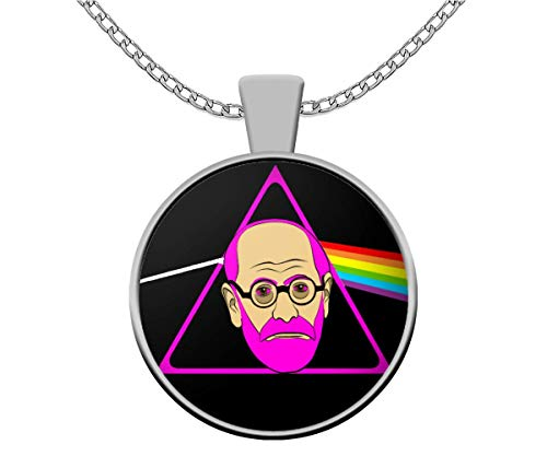 Psychology Student Necklace - Pink Freud - Sigmund Freud...