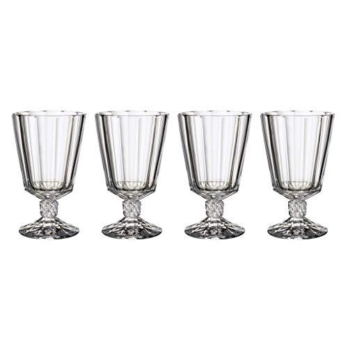 Villeroy & Boch Opra Calici per Acqua, Set da 4, 360 milliliters, Cristallo, Trasparente