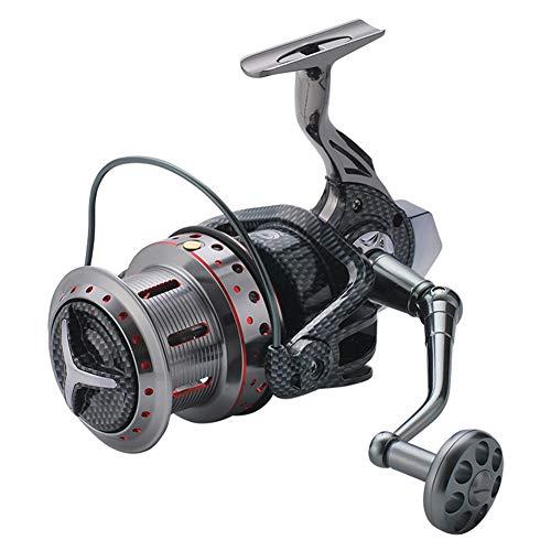 SHZJ Mulinello da Pesca con Corpo in Metallo Pieno DH8000-12000 Mulinello da Pesca con Mulinello da Traino, DH9000
