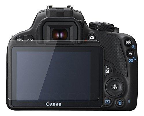 クロスフォレスト Canon EOS Kiss X7 / X6用ガラスフィルム ラウンドエッジ Glass Film 「CF-GCCX7」液晶保護フィルム