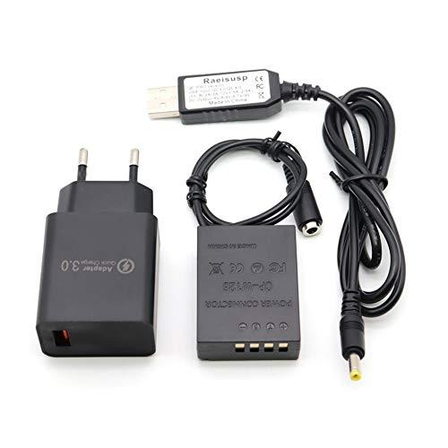 Cavo driver USB PRO + Accoppiatore CP-W126 NP-W126 Batteria fittizia + Caricabatterie QC3.0 per Fujifilm X-A2 A3 X-T10 X-E2s X-Pro2 X-T20 XT-1 X-E3