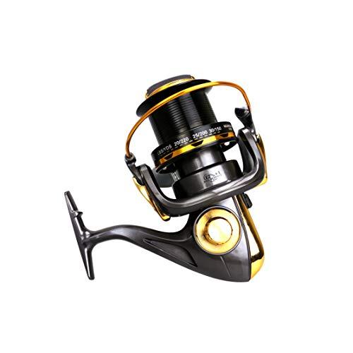 HiXB Mulinello da Pesca Mulinello Rotante 12 + 1bb 8000 9000 10000 11000 Robusto E Durevole Facile da Piegare Buona qualit E da Viaggio Indispensabili,10000
