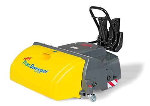 Rolly Toys rollyTrac Sweeper Anbaukehrmaschine (für RollyToys Fahrzeuge mit Frontanhängekupplung, Auffangbehälter) 409709