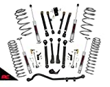 Rough Country 2.5' Lift Kit (fits) 1997-2006 Jeep Wrangler TJ | 6CYL | X-Series | N3 Shocks | Suspension System | 61220
