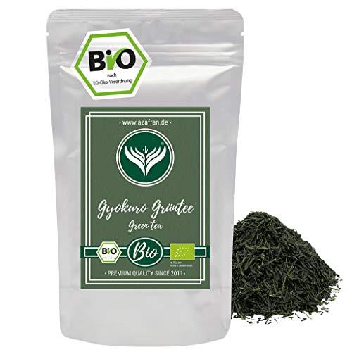 Azafran BIO Gyokuro Tee - Japanischer Premium Grüntee 1st Flush - Original aus Japan 125g