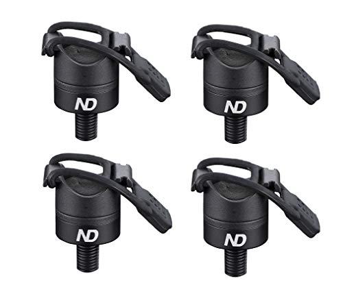 New Direction Tackle - Supporto magnetico P8 per canna da pesca della carpa, 4 pezzi