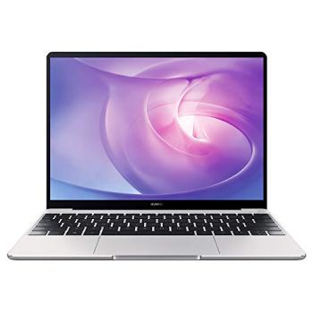 """HUAWEI MateBook 13 PC Portable, 13"""" écran FullView 2K (Intel Core i5, 8GB RAM, 512GB SSD, NVIDIA GeForce MX250, Windows 10 Home, Clavier Français AZERTY), Capteur D'empreinte Digitale, Argent"""