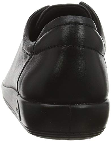 ECCO Women's Soft 2.0 Tie Sneaker, Black, Women 2