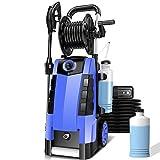 3800PSI Pressure Washer, 2.8GPM High Pressure Power Washer, TA5240 Pressure Washer Car Patio Garden Yard Cleaner (Blue)