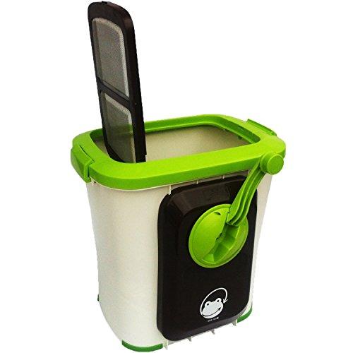 エコクリーン 家庭用 生ごみ処理機 自然にカエル S 基本セット (手動式)